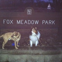 Photo taken at Fox Meadow Park by Karen H. on 12/31/2011