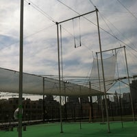 Photo taken at Trapeze School New York by Jessica H. on 8/13/2011