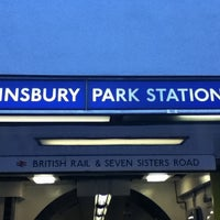 Photo taken at Finsbury Park Railway Station (FPK) by ashley h. on 1/9/2011