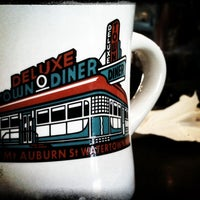 Photo taken at Deluxe Station Diner by Will A. on 1/9/2011