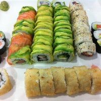 Photo taken at Niu Sushi by Constanza R. on 10/7/2011