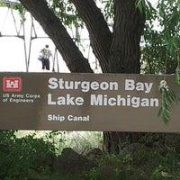Photo taken at USCG Station Sturgeon Bay by Karen B. on 7/26/2012