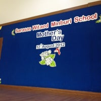 Photo taken at โรงเรียนสารสาน์สวิเทศน์มีนบุรี by MonoMaxiMuM T. on 8/9/2012