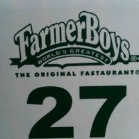 Photo taken at Farmer Boys by Joe L. on 1/27/2012