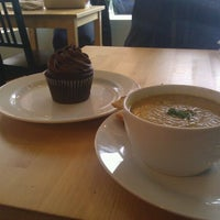 Photo taken at Fraiche Bakery & Cafe by Mahrinah L. on 12/5/2011