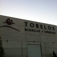 Photo taken at Bodegas Tobelos by Carlos H. on 10/5/2011