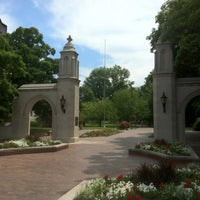 Photo taken at Indiana University Bloomington by Will L. on 6/9/2012