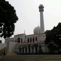 Photo taken at Masjid Agung Al-Azhar by Lucky N. on 8/18/2012