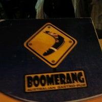 Photo taken at Boomerang by Greg on 2/11/2012