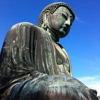 Photo taken at Great Buddha of Kamakura by Hide K. on 9/8/2012