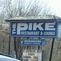 Photo taken at The Pike Restaurant & Lounge by Jeff F. on 3/17/2012