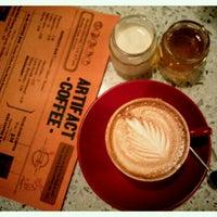 Photo taken at Artifact Coffee by Samantha on 7/14/2012