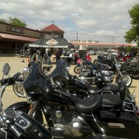 Photo taken at Andrae's Harley Davidson by Shellie E. on 4/21/2012