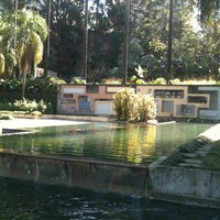 Photo taken at Parque Burle Marx by Cris A. on 8/11/2012
