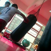 Photo taken at Muay Fit by GuoSheng Y. on 5/19/2012