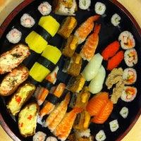 Photo taken at Sakae Sushi by Adam S. on 5/23/2012