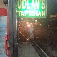 Photo taken at Odlam's Tapsihan by richard o. on 8/18/2012