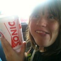 Photo taken at SONIC Drive In by Laura B. on 5/25/2012