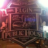Photo taken at Elgin Public House by Rich J. on 4/6/2012