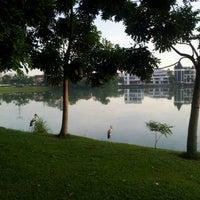 Photo taken at Taman Tasik Ampang Hilir by Azhad N. on 3/10/2012
