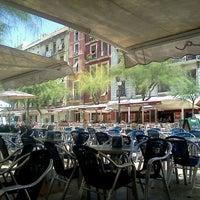 Photo taken at Plaça de la Font by Sasho A. on 8/10/2012