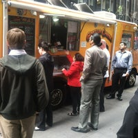 Photo taken at Gorilla Cheese Truck NYC by Ariane S. on 4/12/2012
