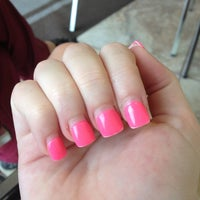 Photo taken at Luxe Nails by Chelsea C. on 3/30/2012