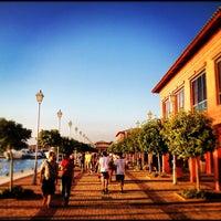 Photo taken at Flisvos Marina by Panagiotis® P. on 7/25/2012