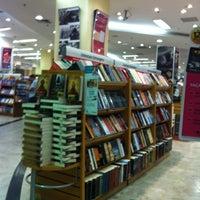 Photo taken at Saraiva MegaStore by Luiz Eduardo N. on 4/21/2012