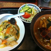Photo taken at つけ麺大王 by Fukio H. on 5/7/2012