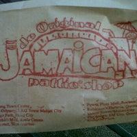 Photo taken at De Original Jamaican Pattie Shop by Patrick U. on 1/10/2012
