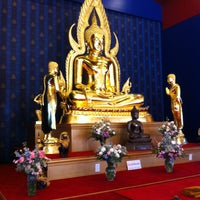 Photo taken at Buddhist Center of Dallas by Siam on 1/1/2012