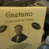 Photo taken at Gaetano Pizza & Cafe by Jake S. on 8/23/2011