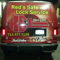 Photo taken at Red's Safe & Lock Service Inc by Michael D. on 5/14/2012