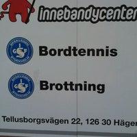 Photo taken at Stockholm Innebandy Center by stefan k. on 9/26/2011