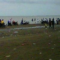 Photo taken at Pantai Pakis Jaya by atick j. on 1/1/2012