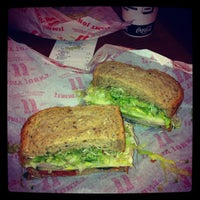 Photo taken at Jimmy John's by Vanessa N. on 12/27/2011