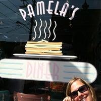 Photo taken at Pamela's P&G Diner by Justin N. on 6/15/2012