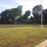 Photo taken at Lapangan Sepak Bola KPAD by Mochamad Sopian A. on 5/12/2012