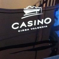 Photo taken at Casino Cirsa Valencia by Alfredo F. on 4/11/2012