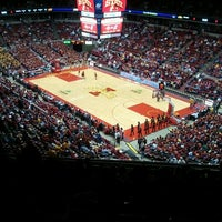 Photo taken at James H. Hilton Coliseum by Deb P. on 1/19/2012