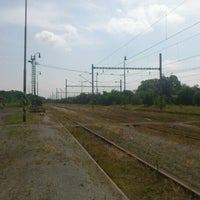 Photo taken at Železniční stanice Louka u Litvínova by Aleš on 7/2/2012