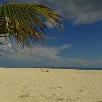 Photo taken at Playa Xaman-Ha by Stanley S. on 2/5/2012