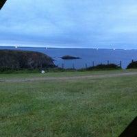 Photo taken at Caerfai Bay Caravan & Tent Park by Richard W. on 6/5/2011