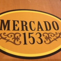 Photo taken at Mercado 153 by Mateus M. on 8/5/2012