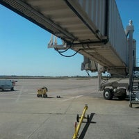 Photo taken at Gate A2 by thomas h. on 10/4/2011