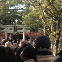 Photo taken at 富松神社 by Shuji A. on 1/1/2012