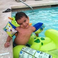 Photo taken at Pool (tanning Bed) by AJ B. on 6/29/2012