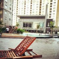 Photo taken at Swimming Pool Royal Mediterania Garden by vivi n. on 8/17/2012