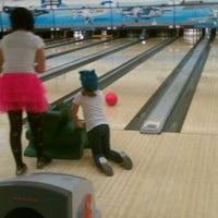 Photo taken at Airway Lanes and Fun Center by Honey Badger B. on 11/12/2011
